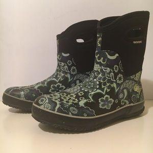 Bogs Women's Classic Mid Tuscany Rain Boot